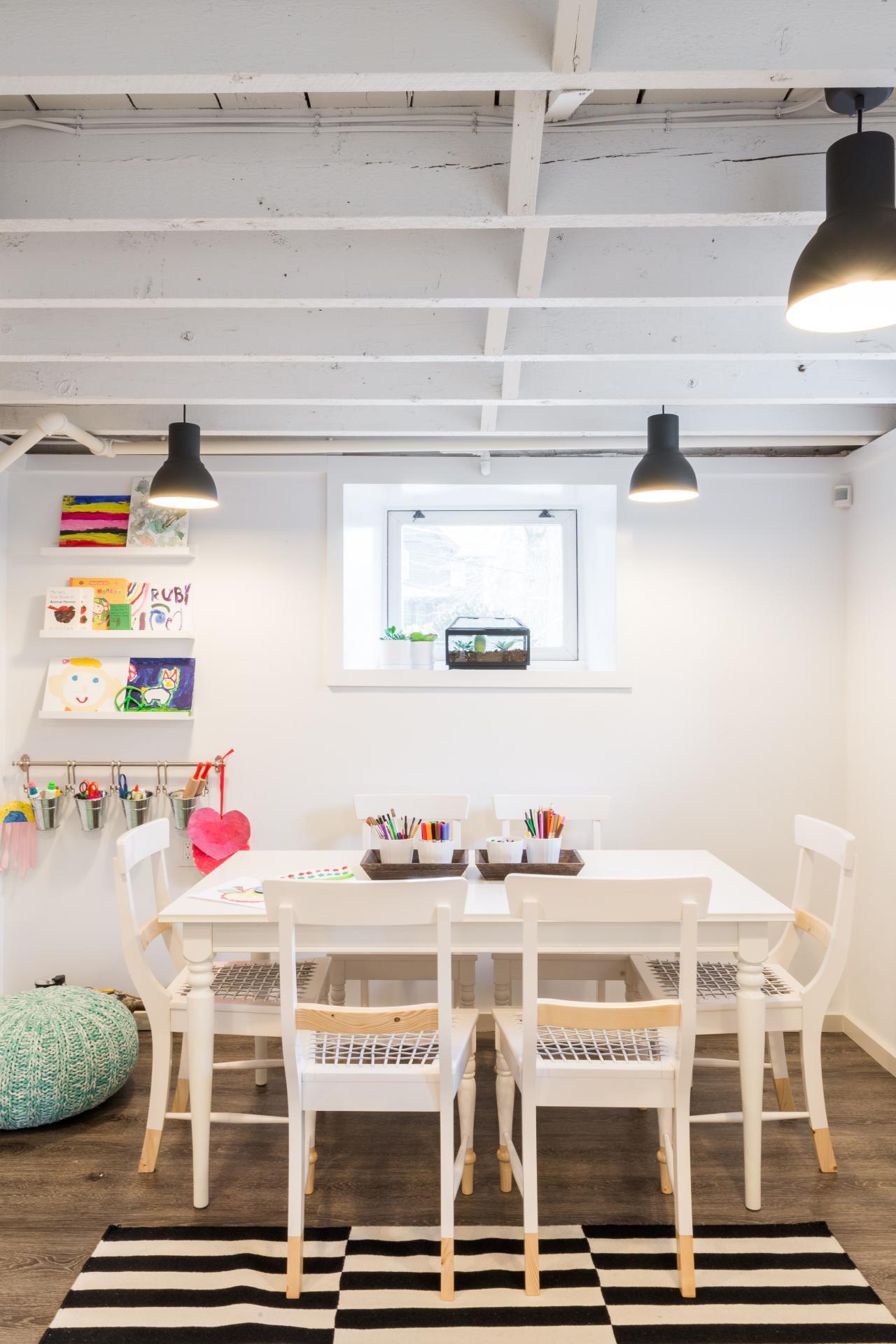 Ultimate Art Studio how to create the ultimate kids' art studio | hgtv's decorating