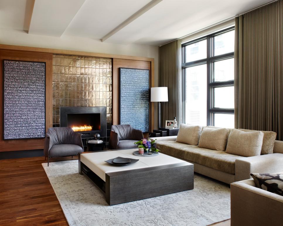 Luxury living room design gossip girl style