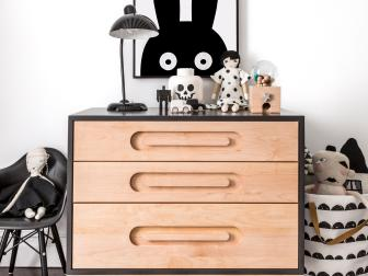 Contemporary Dresser: Children's Bedroom