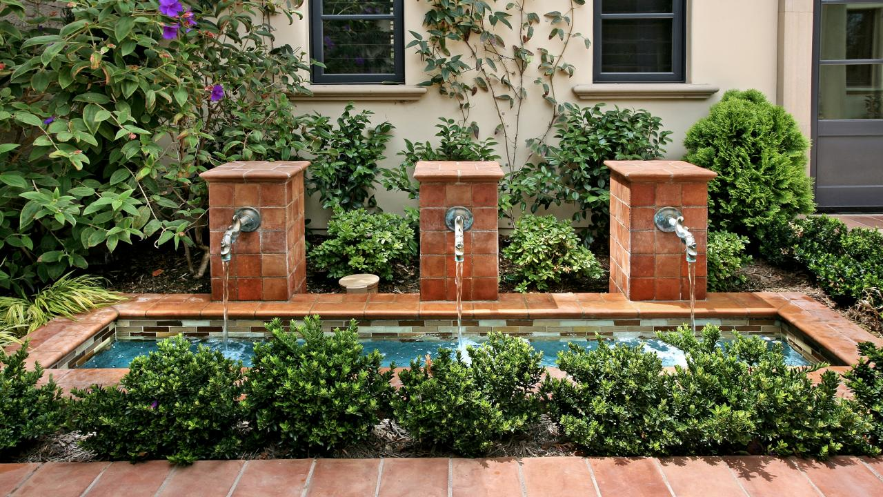 15 Gorgeous Patio Fountain Ideas Hgtv S Decorating