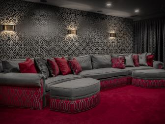 Old Hollywood Home Theater