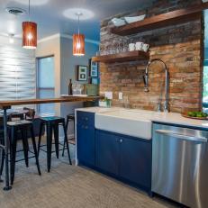 Austin Loft-Inspired Kitchen