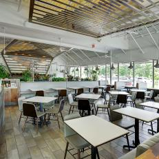 Restaurant Dining Area Is Chic, Stylish