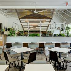 Hip Restaurant Offers Plenty of Seating