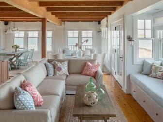 Beach Cottage Features Open Floor Plan