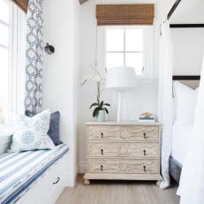Coastal Bedroom Is Classic Yet Current