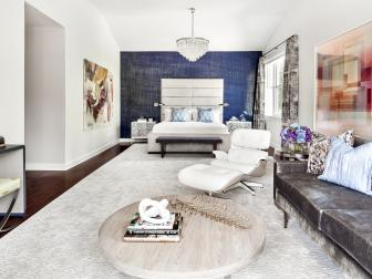 Spacious Master Bedroom Boasts Cohesive Design