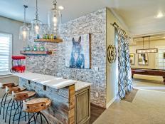 87 home bar design ideas for basements bonus rooms or theaters 87 photos - Basement Design