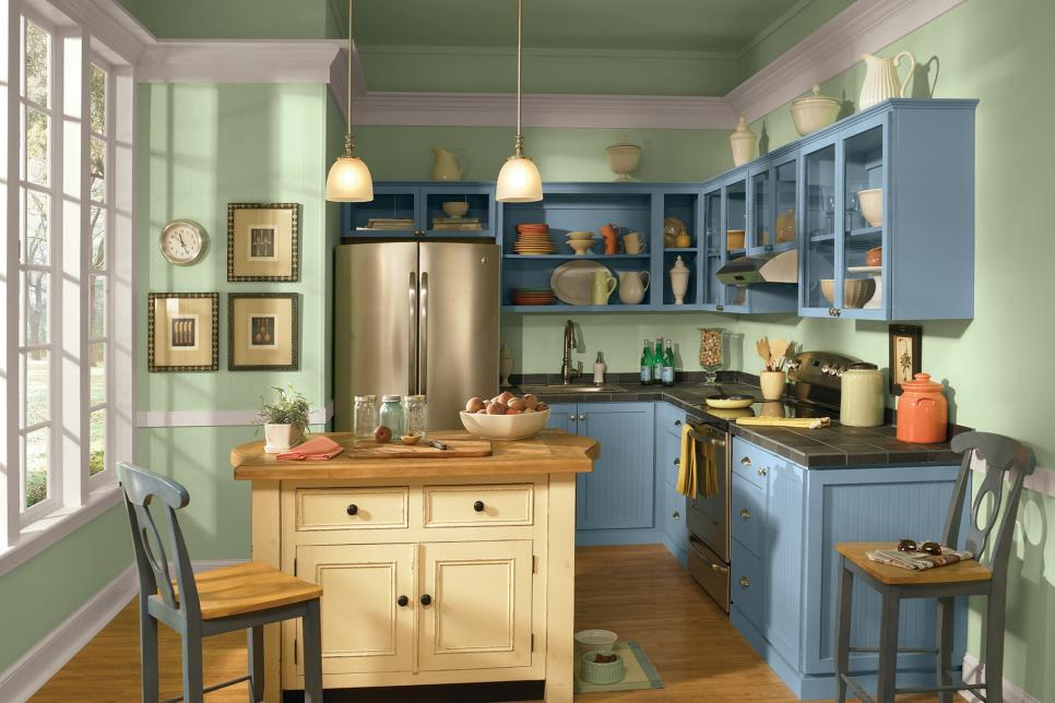 Interior Ways To Update Kitchen Cabinets 12 easy ways to update kitchen cabinets hgtv photo by behr paints