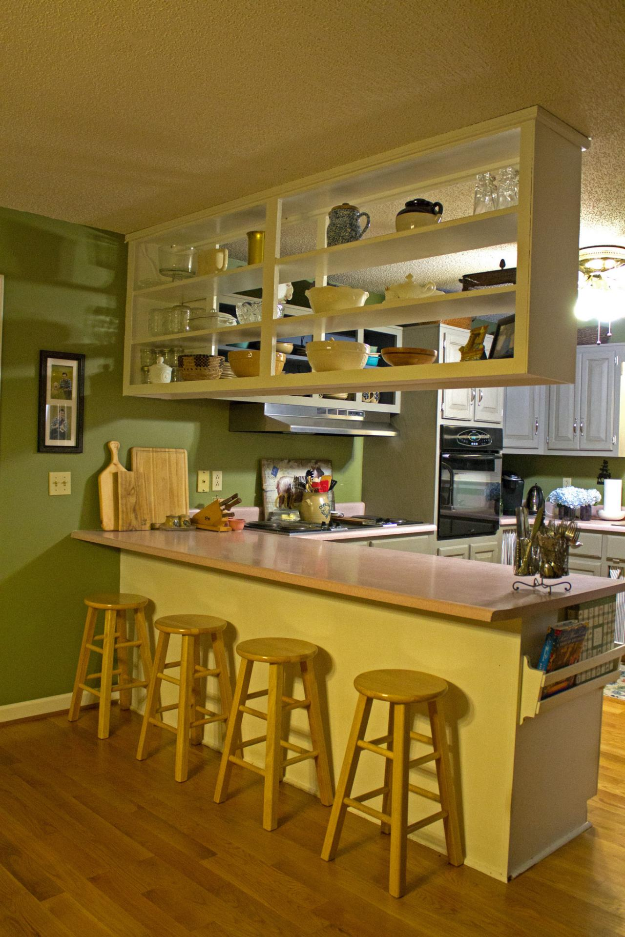 Tall Kitchen Cabinets Ideas & Tips From HGTV