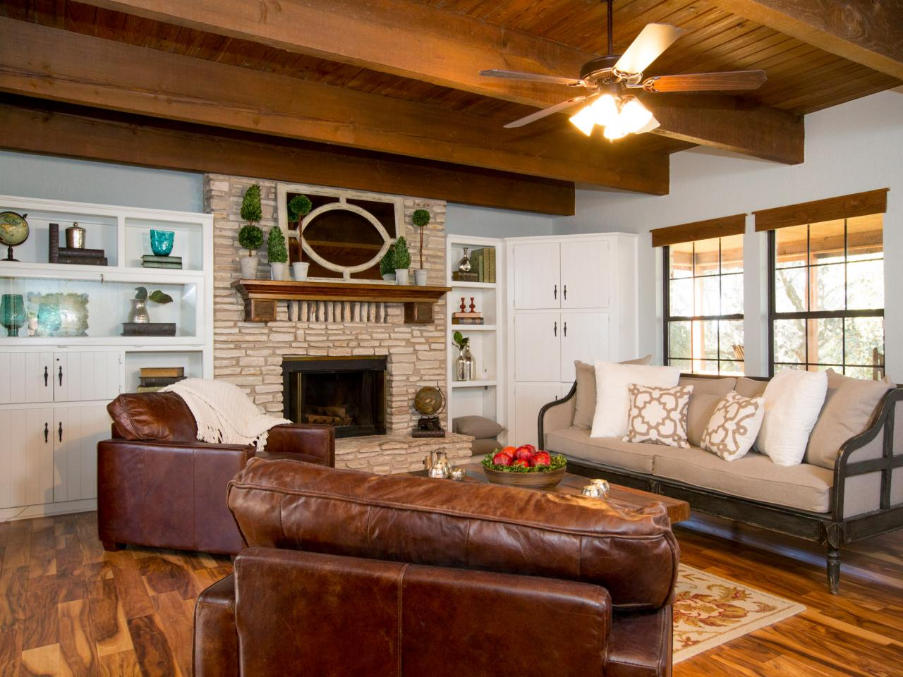Chip And Joanna Gaines Transform A Barn Into A Rustic Home Perfect For Entertaining Hgtv 39 S