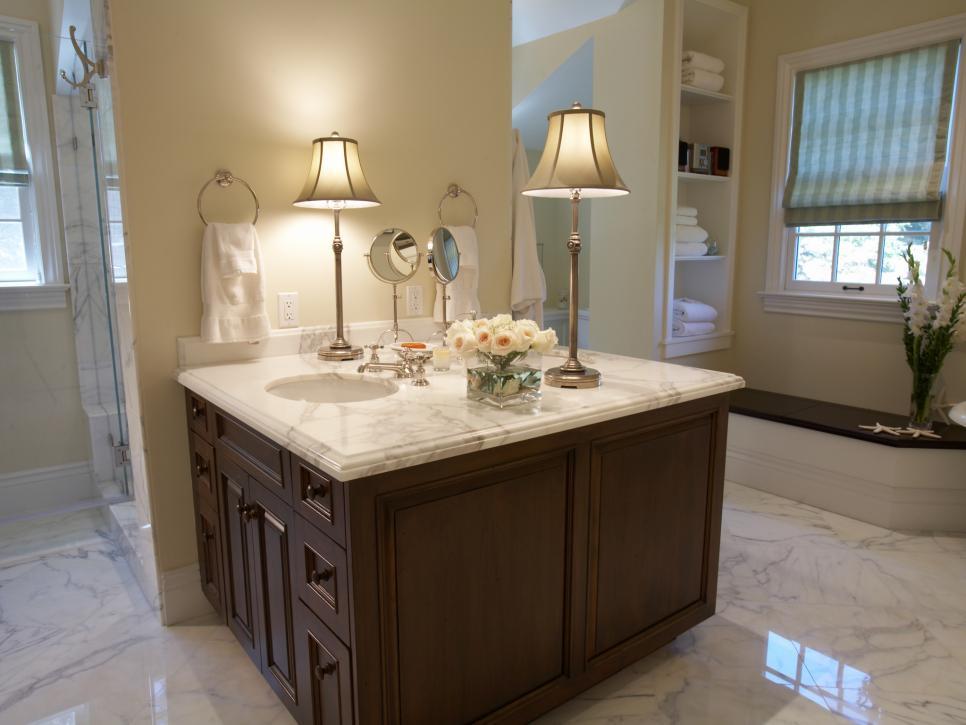 Beautiful Natural Master Bathroom Ideas: Illuminating Ideas For Beautiful Bathroom Lighting