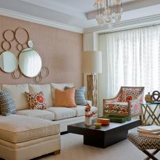 A Soft, Sophisticated and Lovely Living Room