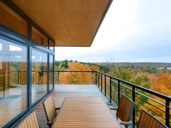 Spacious Deck Offers Stunning Views