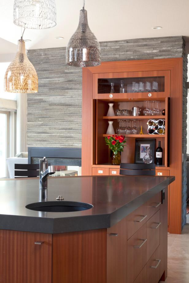 Storage in Contemporary Kitchen