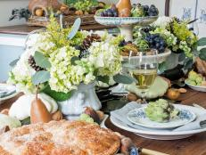 Fall's Bounty on Display in Beautiful Tablescape