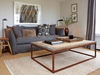 Transitional Living Room is Comfortable, Inviting
