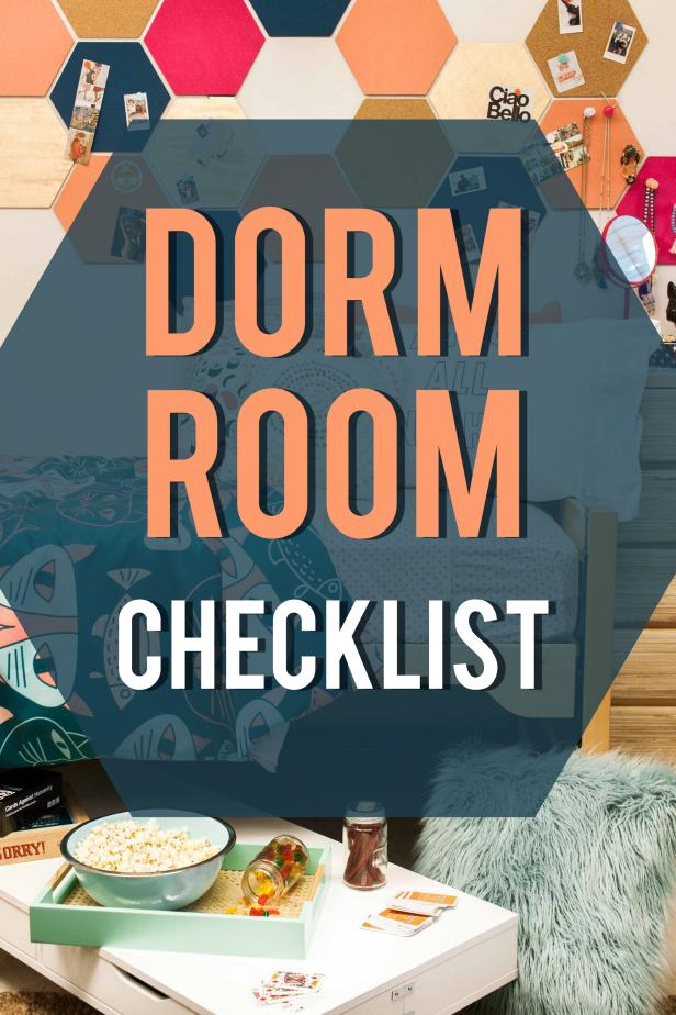 College Dorm Checklist: Don'T Forget These Dorm Room Essentials