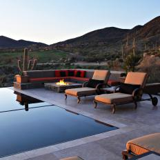 Luxury Southwest Infinity Pool with Views