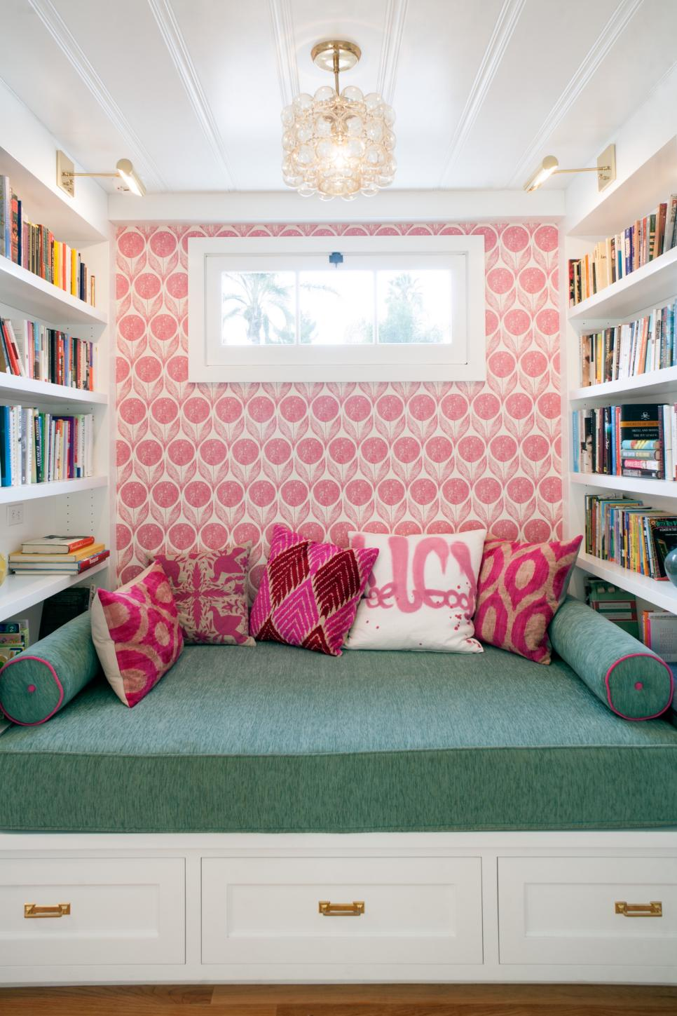 Pink And Green Living Room Raspberry Pink Color Palette Raspberry Pink Color Schemes Hgtv