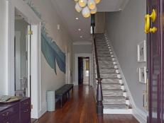Colorful, Welcoming Foyer