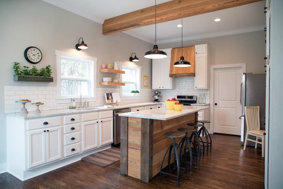 Fixer upper tackling the beast hgtv 39 s fixer upper for Kitchen ideas joanna gaines