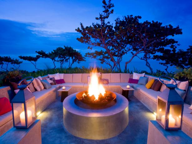 Gorgeous Fire Pit at W Retreat & Spa, Vieques Island