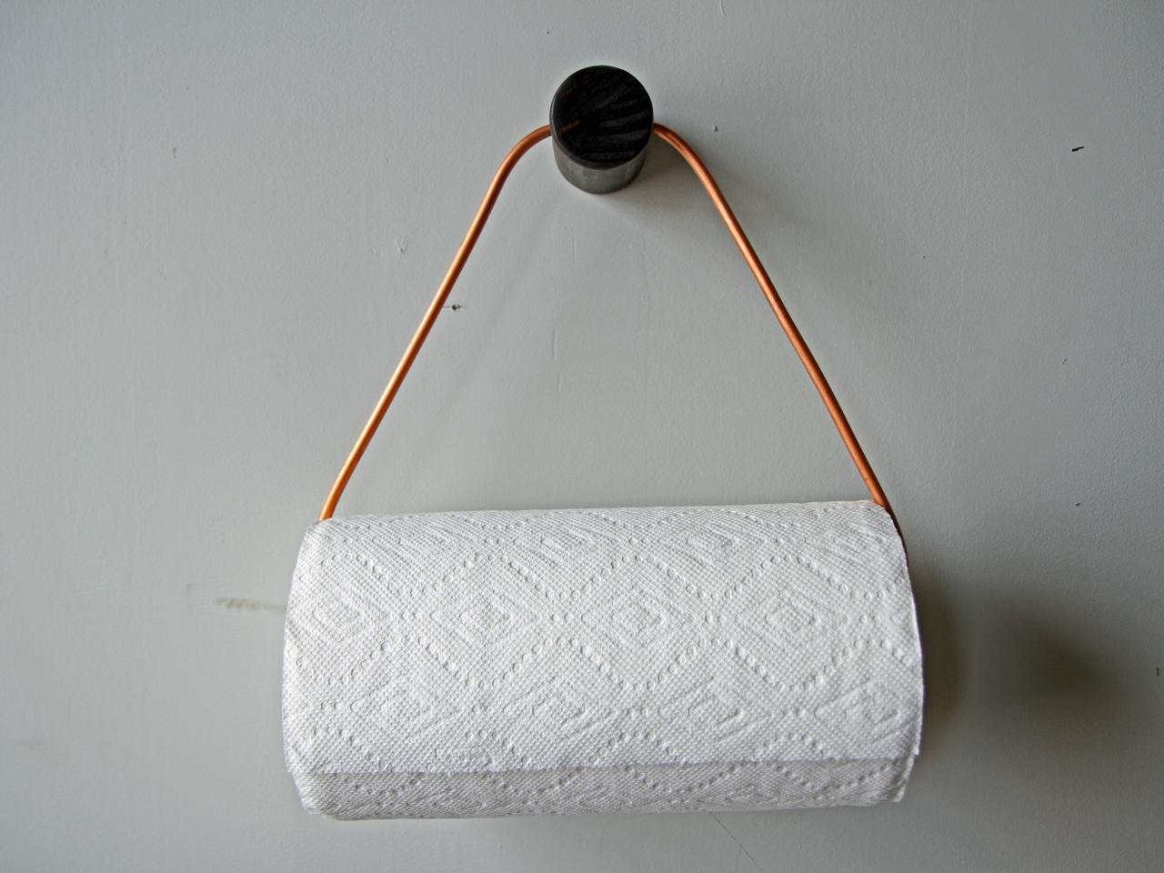 Make Paper Towel Holder