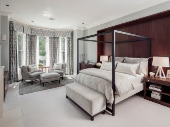 Sophisticated Gray Master Bedroom