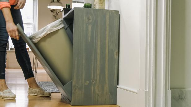 How To Make A Hidden Trash Can Cabinet Danmade Watch