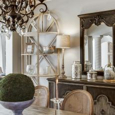French Country Inspired Dining Room