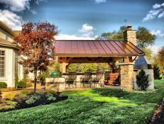 Outdoor Pavilion in Backyard