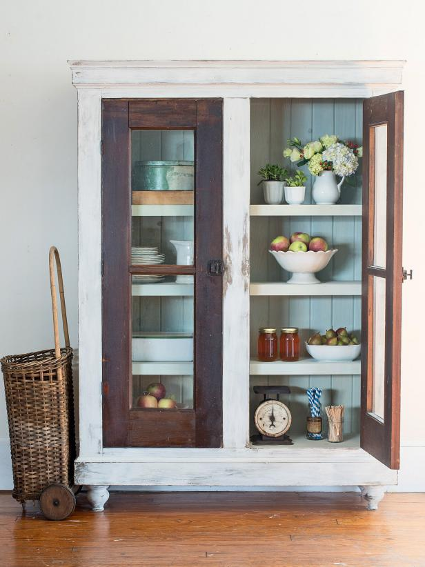 How to Build a Cabinet Around Reclaimed Doors