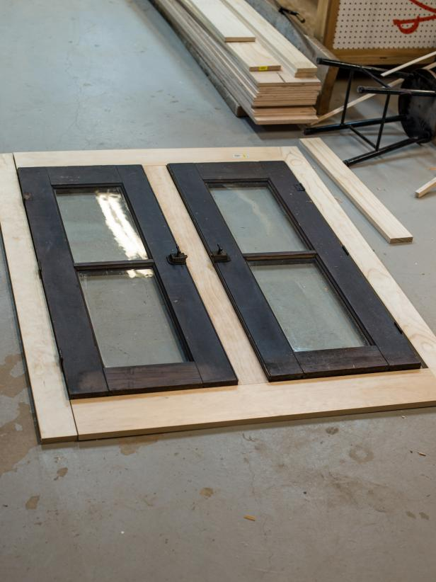 Dry Fit and Cut Face Frame