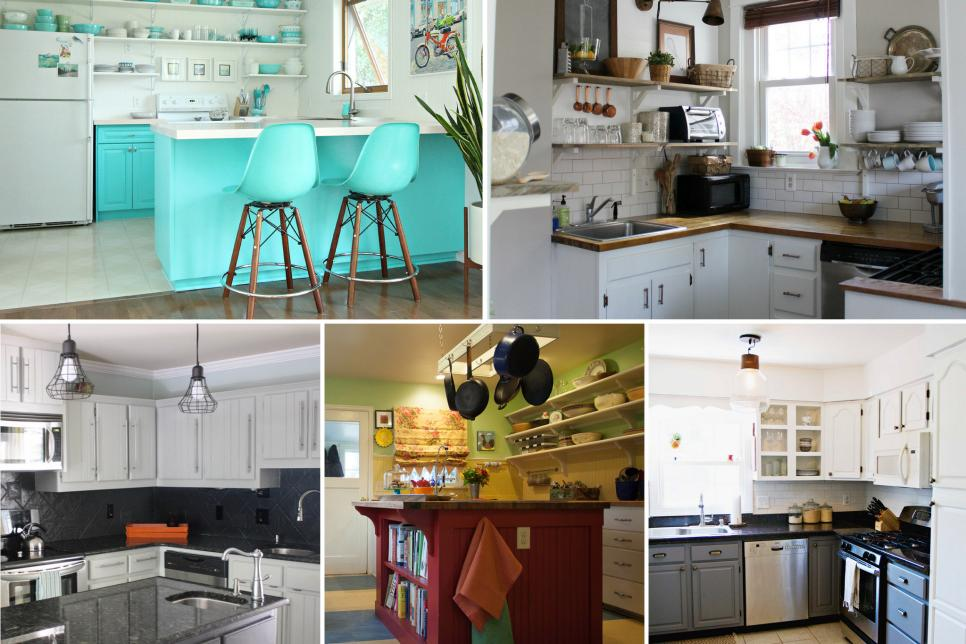 BeforeandAfter Kitchen Remodels On A Budget HGTV - 10000 kitchen remodel