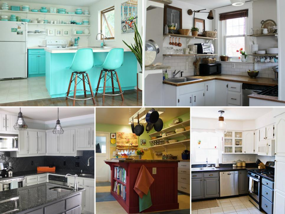 Before And After Kitchen Remodels On A Budget Hgtv