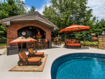 Grab a Cool Drink From the Bar While Lounging By the Pool