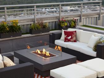 Modern Outdoor Fire Pit