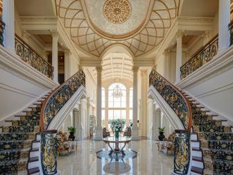 Ornamental Grand Entryway