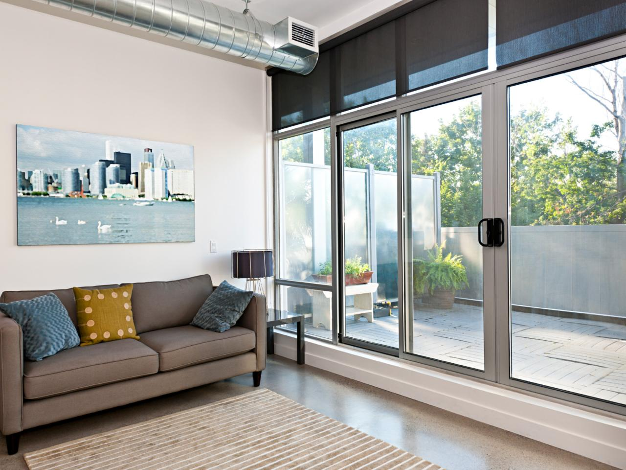 How hard is it to install a sliding glass door diy for Sliding glass door to french door