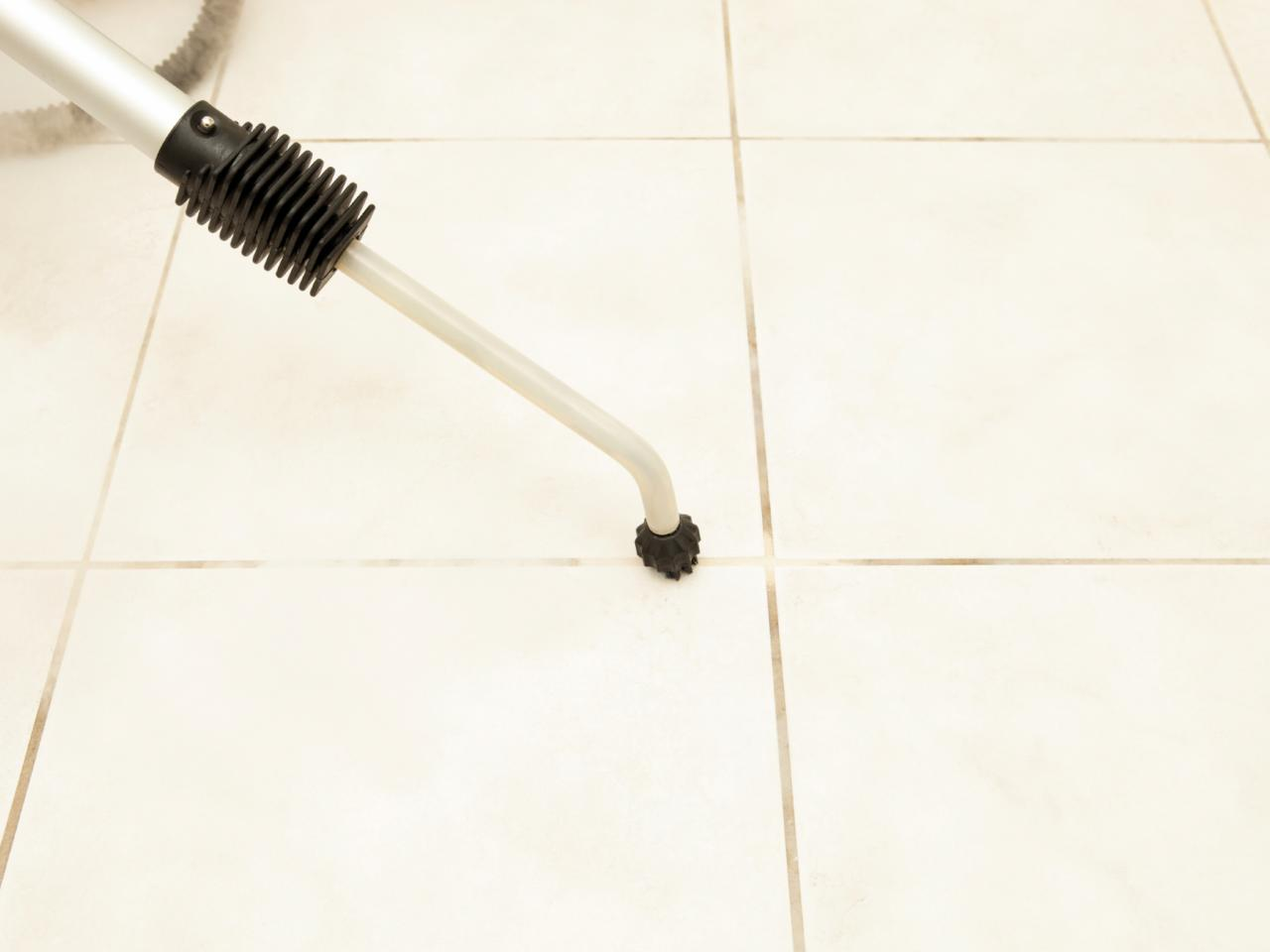 how to clean grout diy