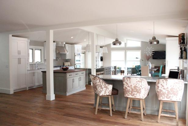 Contemporary Open Kitchen