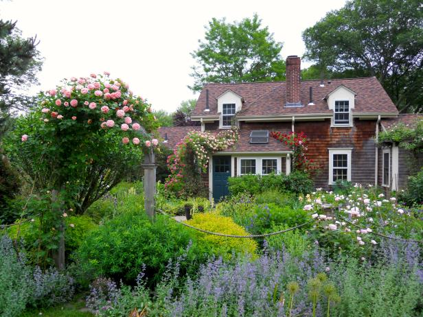 A Charming Country Home with Cottage Garden