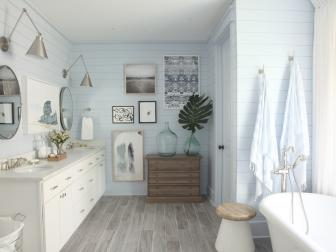 Master Bathroom ...
