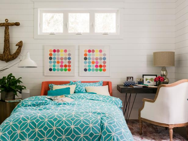 Bedrooms bedroom decorating ideas hgtv Ideas for decorating my bedroom