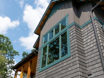Exterior With Turquoise Trim