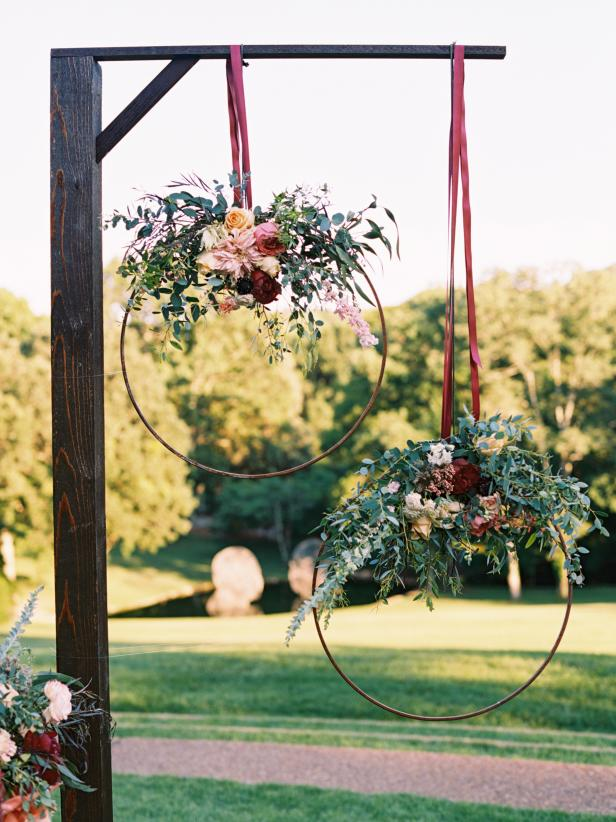 32 DIY Wedding Arbors Altars Aisles