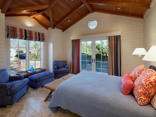 Cottage yet Rustic Bedroom