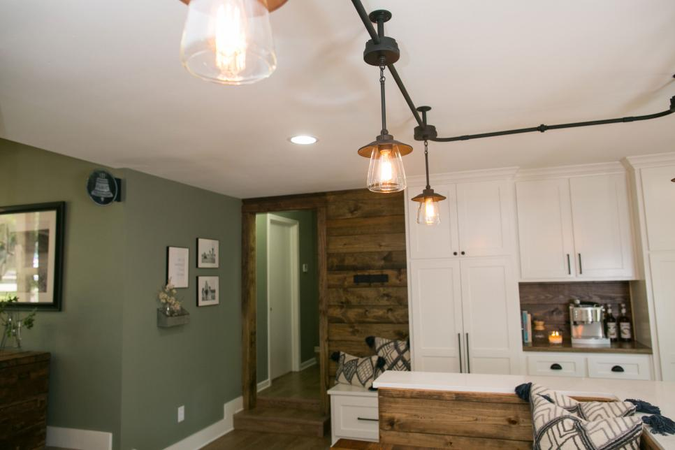 Track lighting dining room