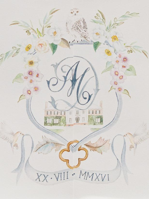 Wedding Trend: Custom Crests